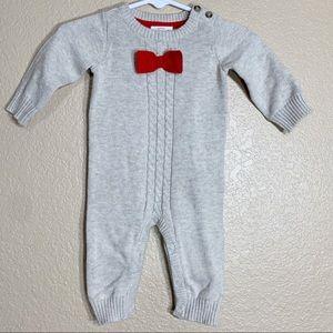 Cat & Jack newborn sweater romper